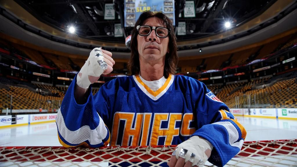 Most Memorable Hockey Movies Slap Shot Hanson Brothers National Hockey League