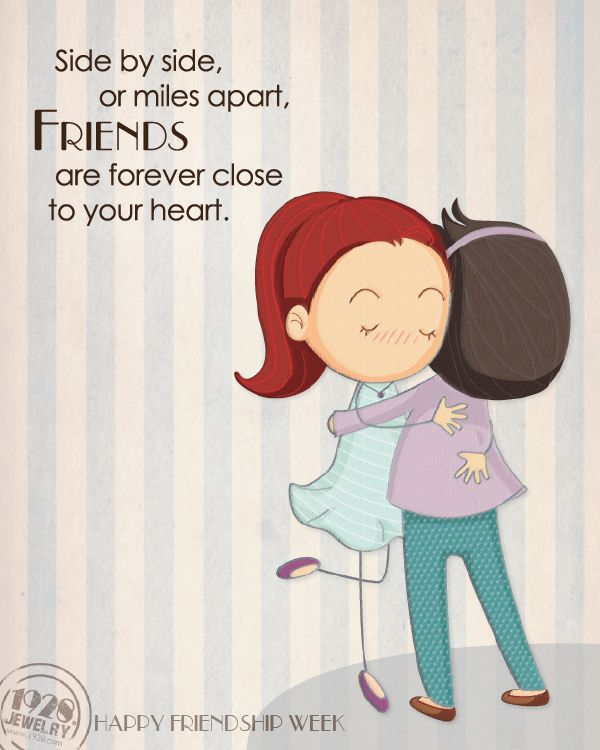 Side By Side Or Miles Apart Friends Are Forever Close To Your