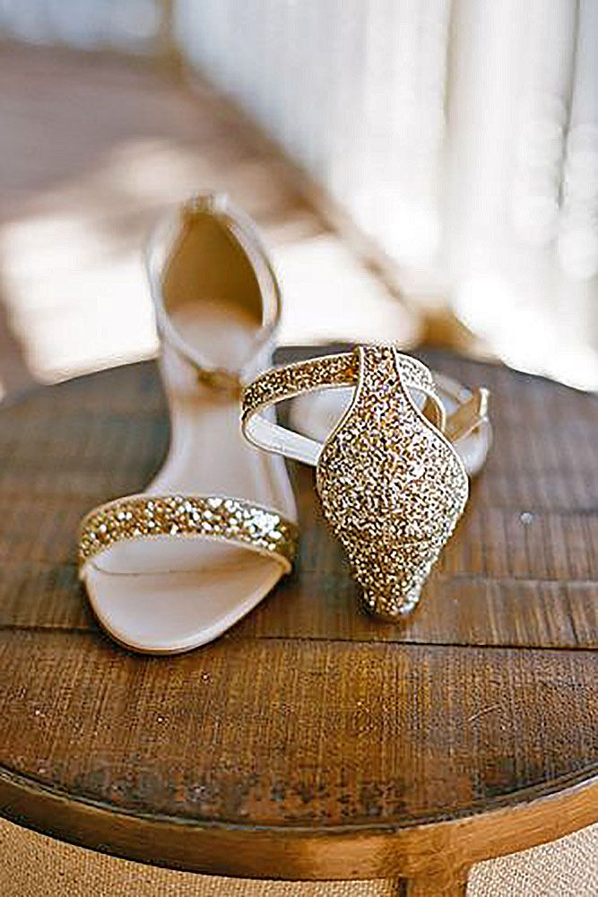 30 Wedge Wedding Shoes To Walk On Cloud | Wedge wedding shoes ...