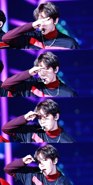 Baekhyun - 151227 2015 SBS Gayo Daejun Credit: Baek Your Time. (2015 SBS 가요대전)