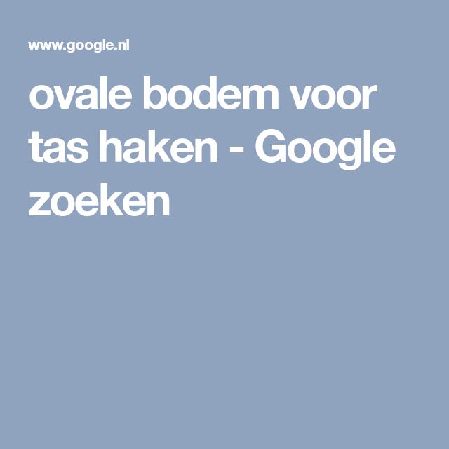 Ovale Bodem Voor Tas Haken Google Zoeken Mochila Pinterest
