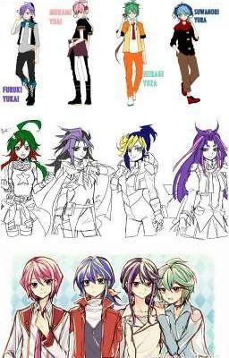 Yu-Gi-Oh Arc V Fems x Oc Love Story | Yu-Gi-Oh Zexal/Arc V