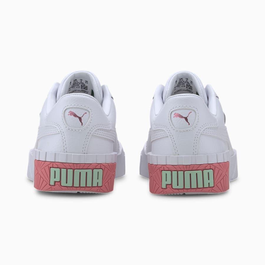 basket fille puma blanche