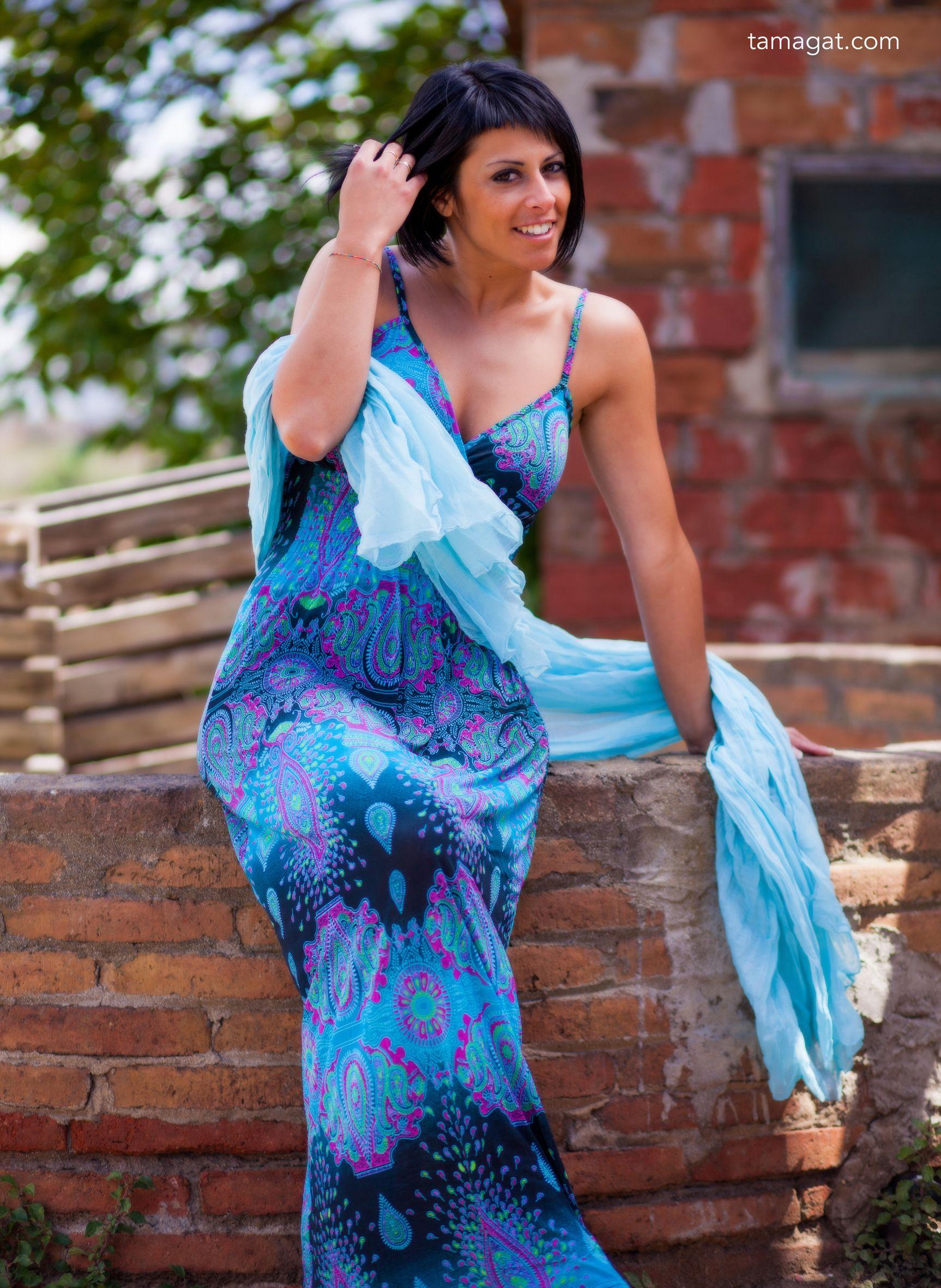 318bdbc7764c Vestido largo muy elegante. Vestido largo muy elegante Tiendas Online De  Ropa ...