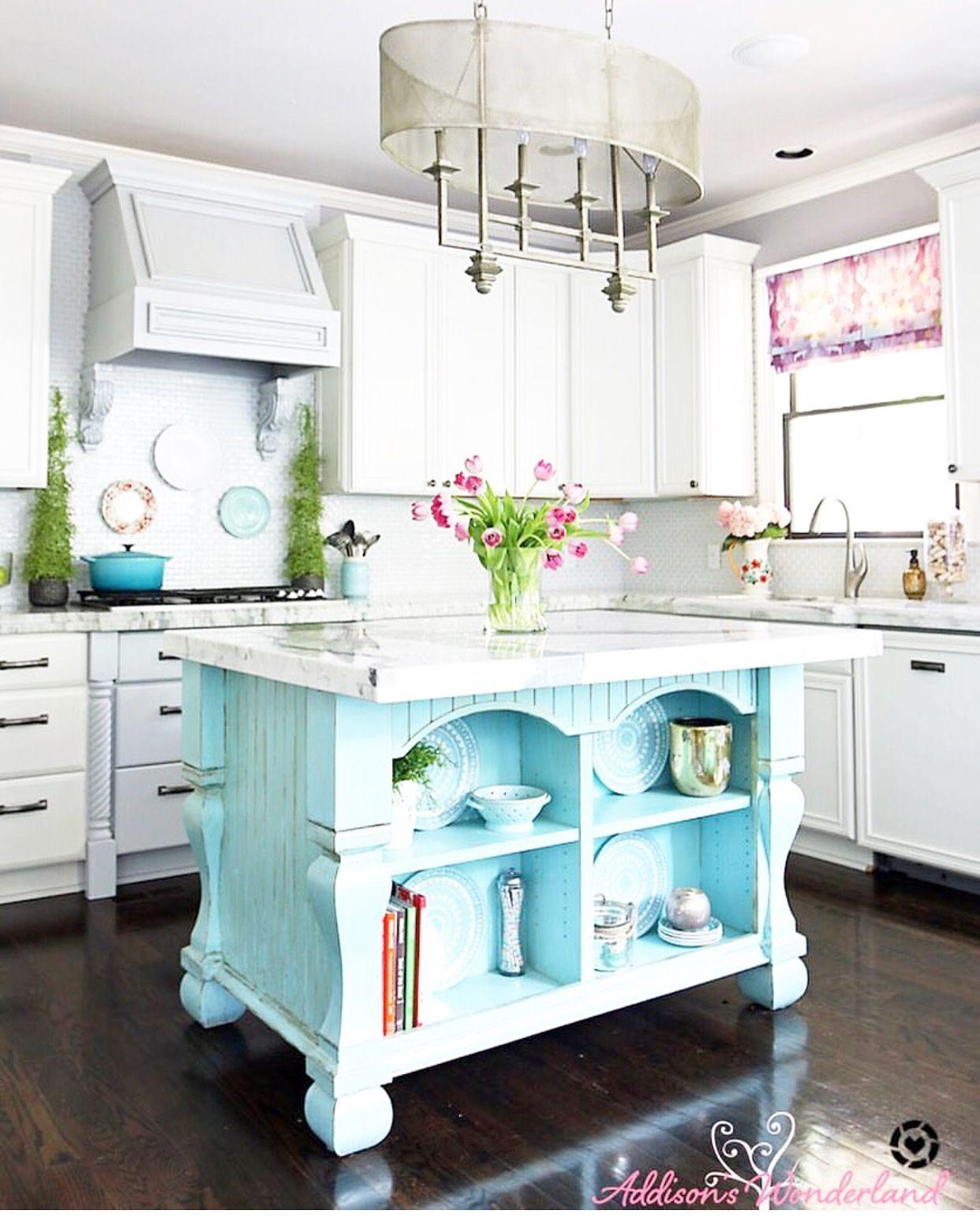 Aqua pink kitchen of dreams Kitchen design, Grey