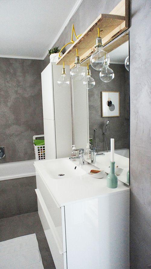 wwwohhhmhhhde Komm se rein - die Haustour Heute mit Anna - lampen für badezimmerspiegel