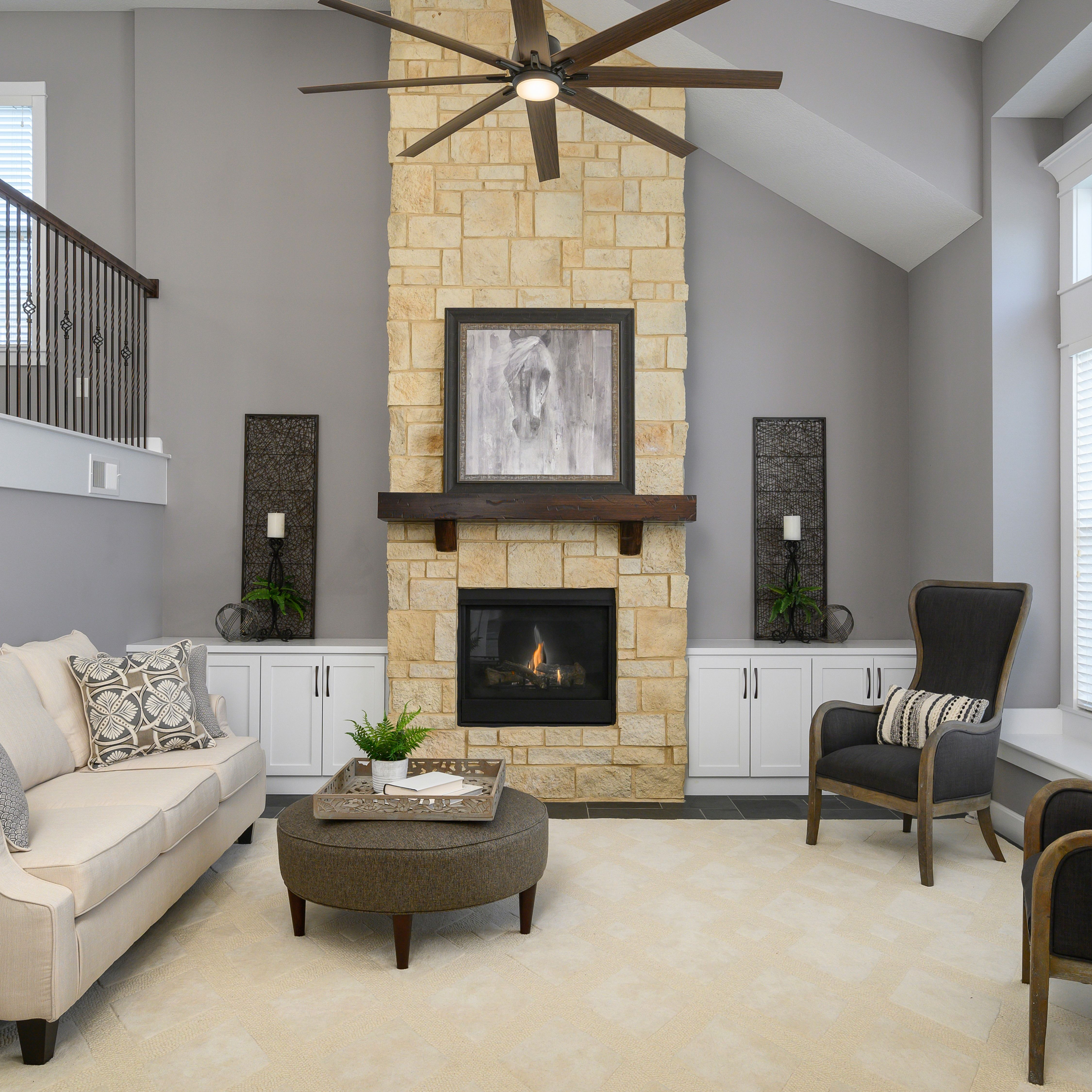 Attractive Interiors Home Staging: Beautiful Living Room Staged By Stylish Staging & Design