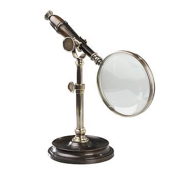 Magnifying Glass On Stand Bronze Magnifying Glass Glass Bronze