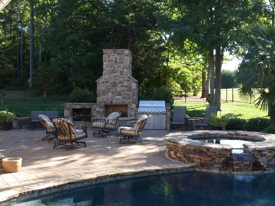 Amazing outdoor fireplace designs part u style estate outdoor