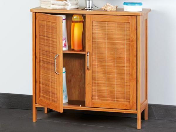Badezimmermöbel Bambus ~ Badunterschrank aus bambus maritime badezimmer