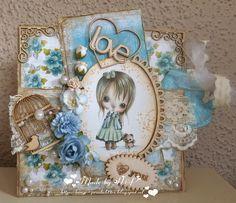 Hilde's cards: Verjaardag Lilith van PpinkyDolls