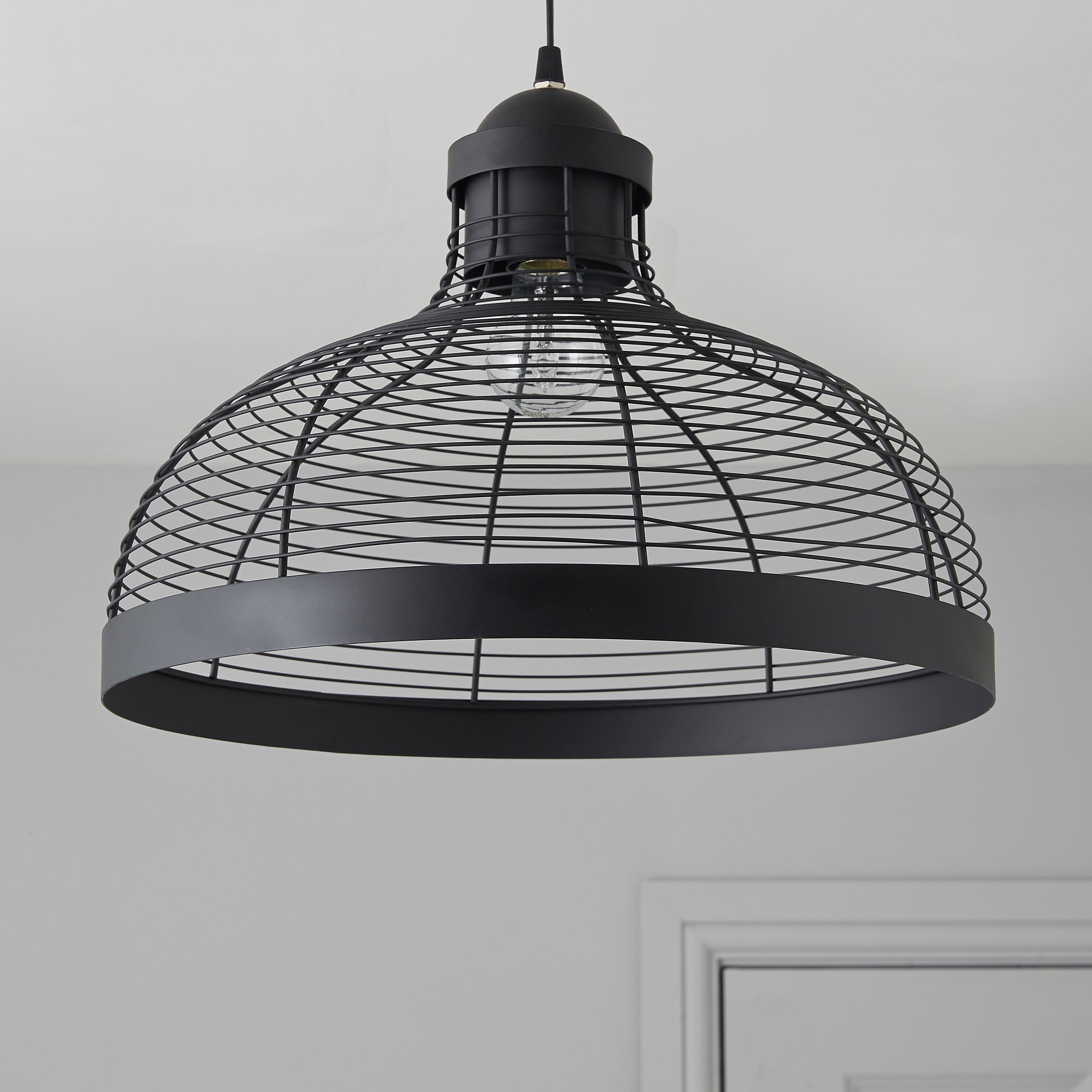 Baici Wire Black Pendant Ceiling Light | Ceiling, Ceiling lights and ...