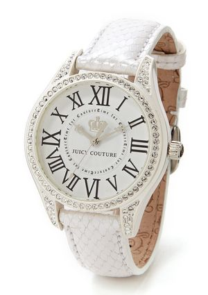 JUICY COUTURE Lively Watch - Love white watches at the moment!
