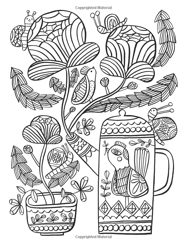 Amazon.com: Posh Adult Coloring Book: Happy Doodles for ...