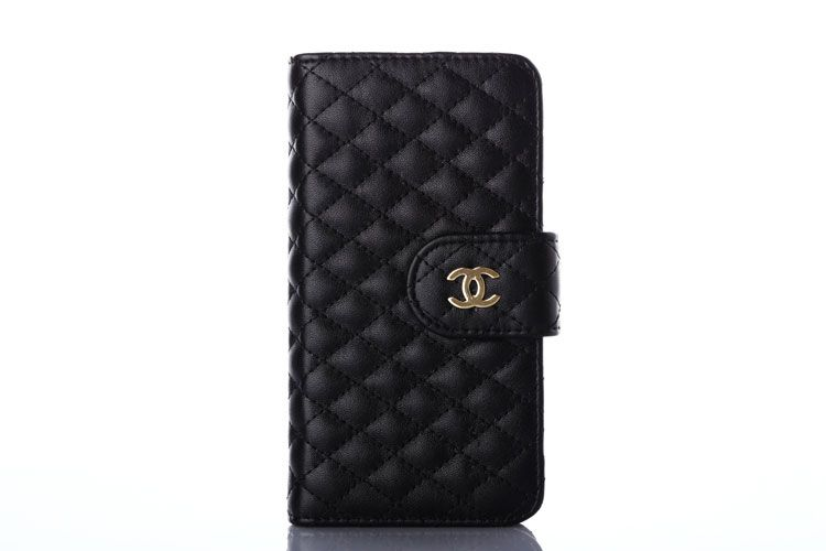 big sale 1fed0 c9b76 Chanel iPhone 6 6S Case Cover-Lamskin Wallet Black | Brand iPhone 6s ...