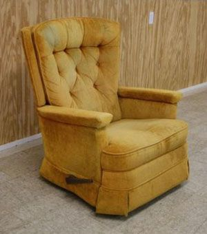 1970s Lazy Boy Recliners Grandmas Were Green Remember