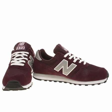 new balance 373 burgundy color