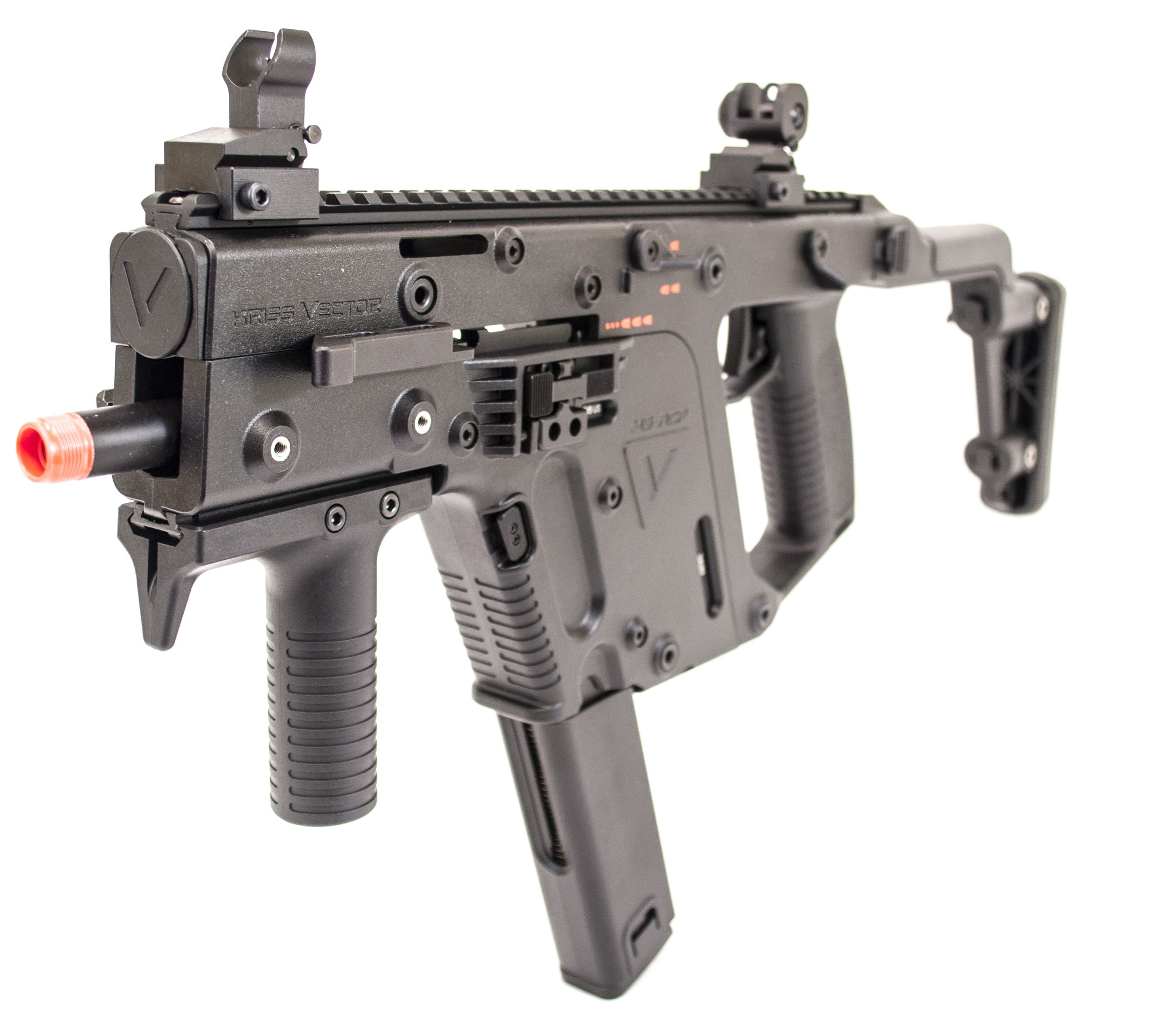 KWA Kriss Vector. One of the most futuristic airsoft guns