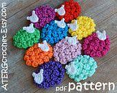 Crochet pattern SHEEP magnet/key ring by ATERGcrochet