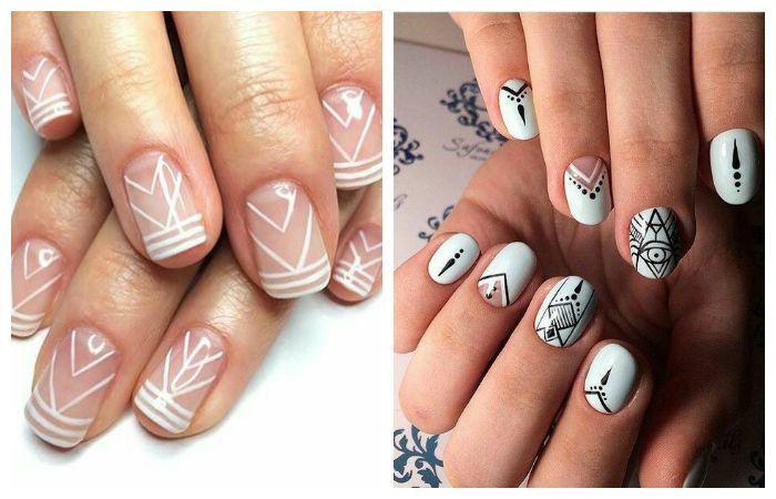 Рисунки на ногтях: все модные новинки (фото и видео ...