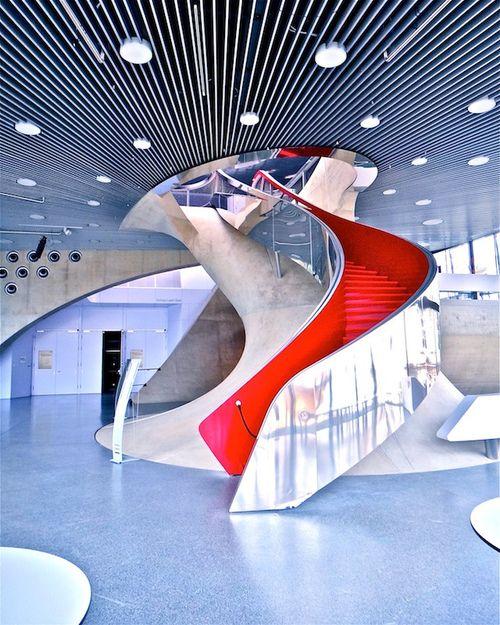 University of Music and Performing Arts Graz, Austria #architecture ☮k☮