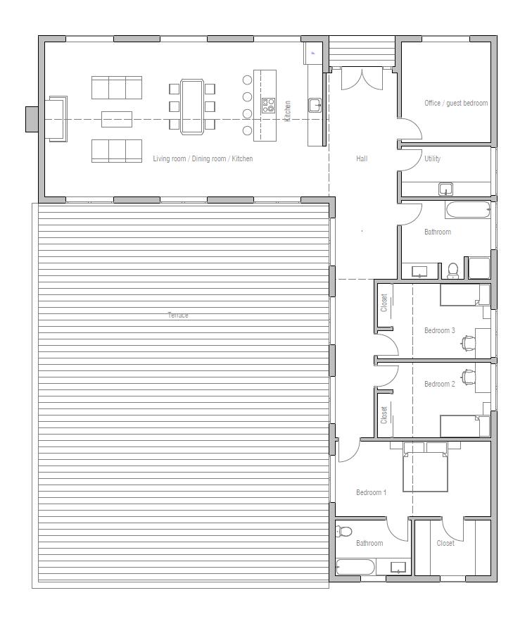 House Plan CH259