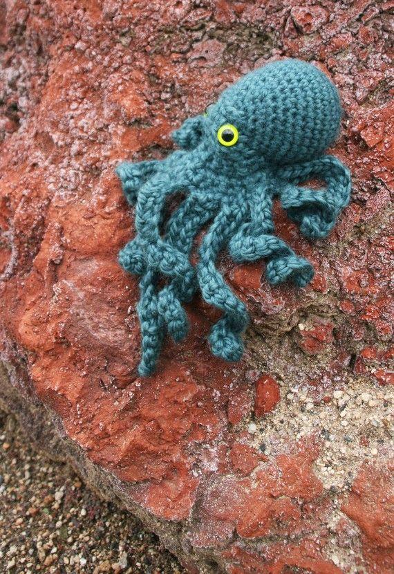 Realistic Octopus crochet pattern PDF | Ganchillo, Patrones ...