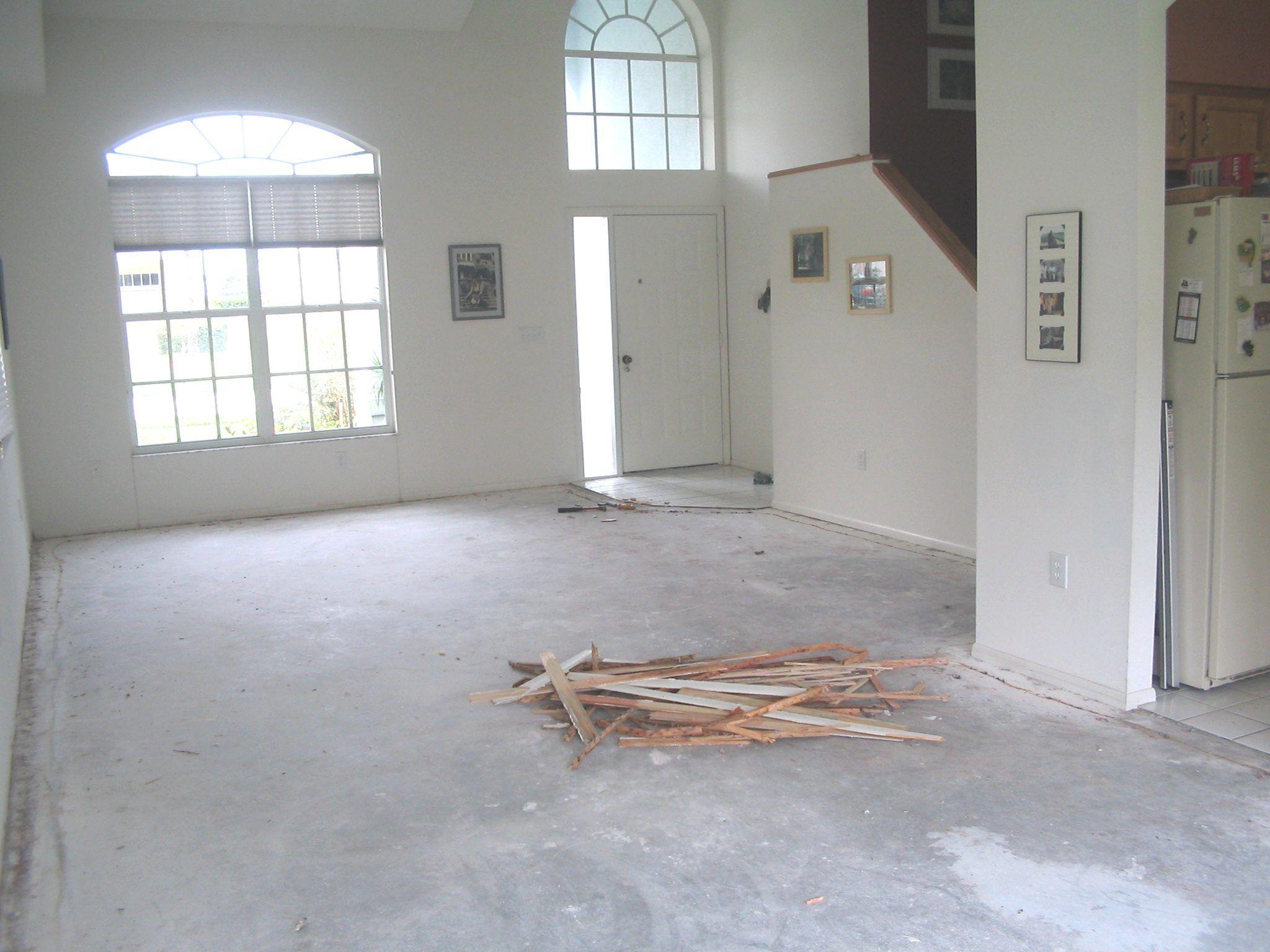 Simple Preparing Painted Concrete Floor For Tiling Remodel Ideas