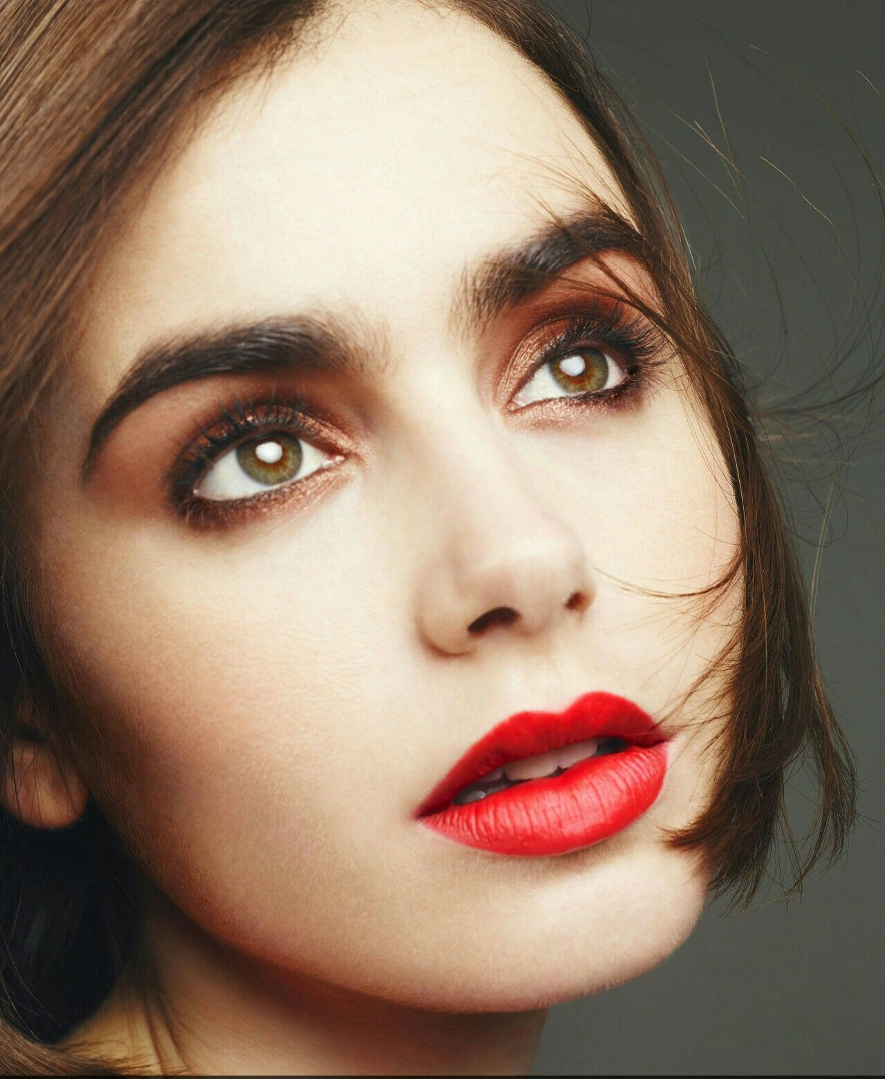 Pin by sierra elmore on makeup pinterest lily collins and makeup