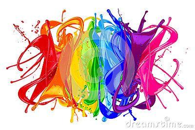 Wallpaper Rainbow Painting Rainbow Wallpaper Rainbow Theme