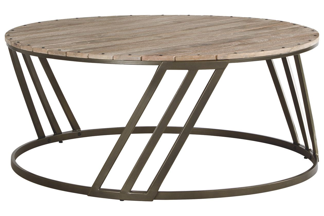 Fathenzen Coffee Table Round Cocktail Tables Coffee Table