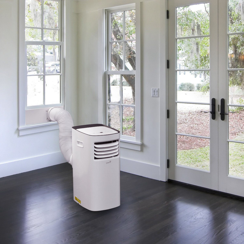 Ivation 12000 Btu Portable Air Conditioner A Compact Singlehose Ac Unit And Dehumidifier W Remote Control Digital Led Displa Dehumidifiers Home Appliances Ac Units