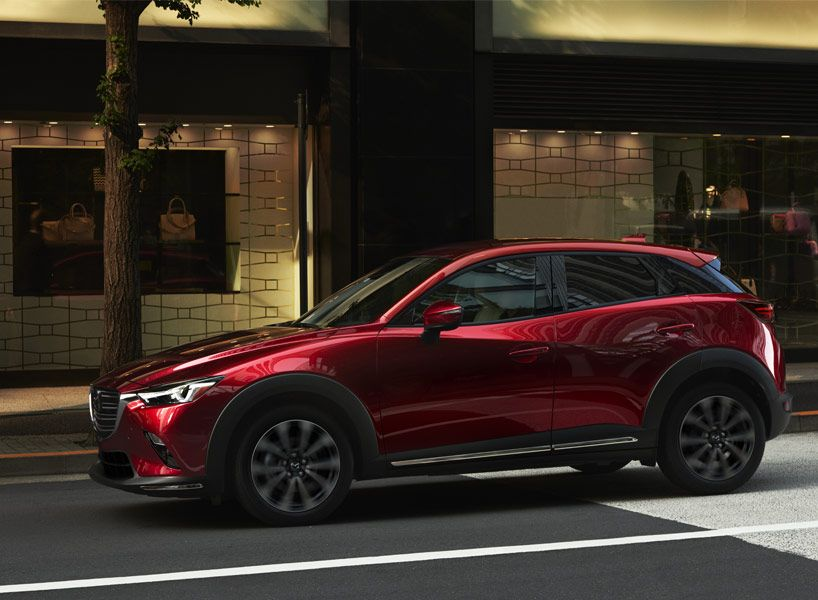 Mazda Cx 3 Suv Debuts At Nyias 2018 With Pure But Subtle