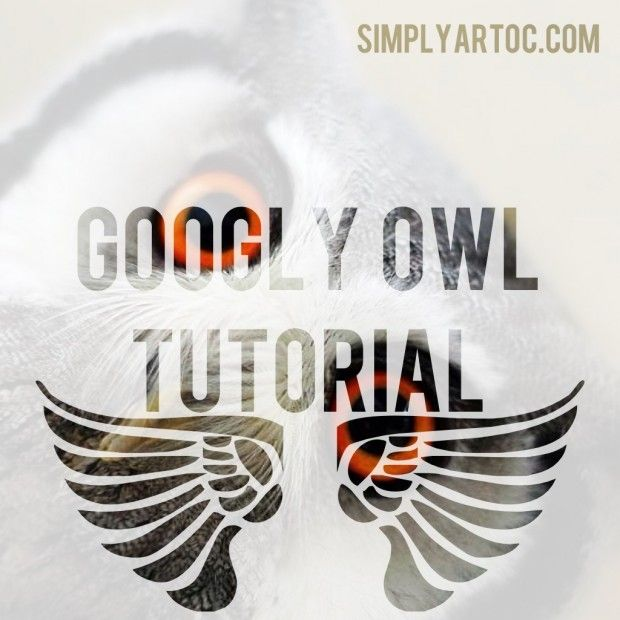 Googly Owl Tutorial & Giveaway, via SimplyArtOC.com | Please Repin =)