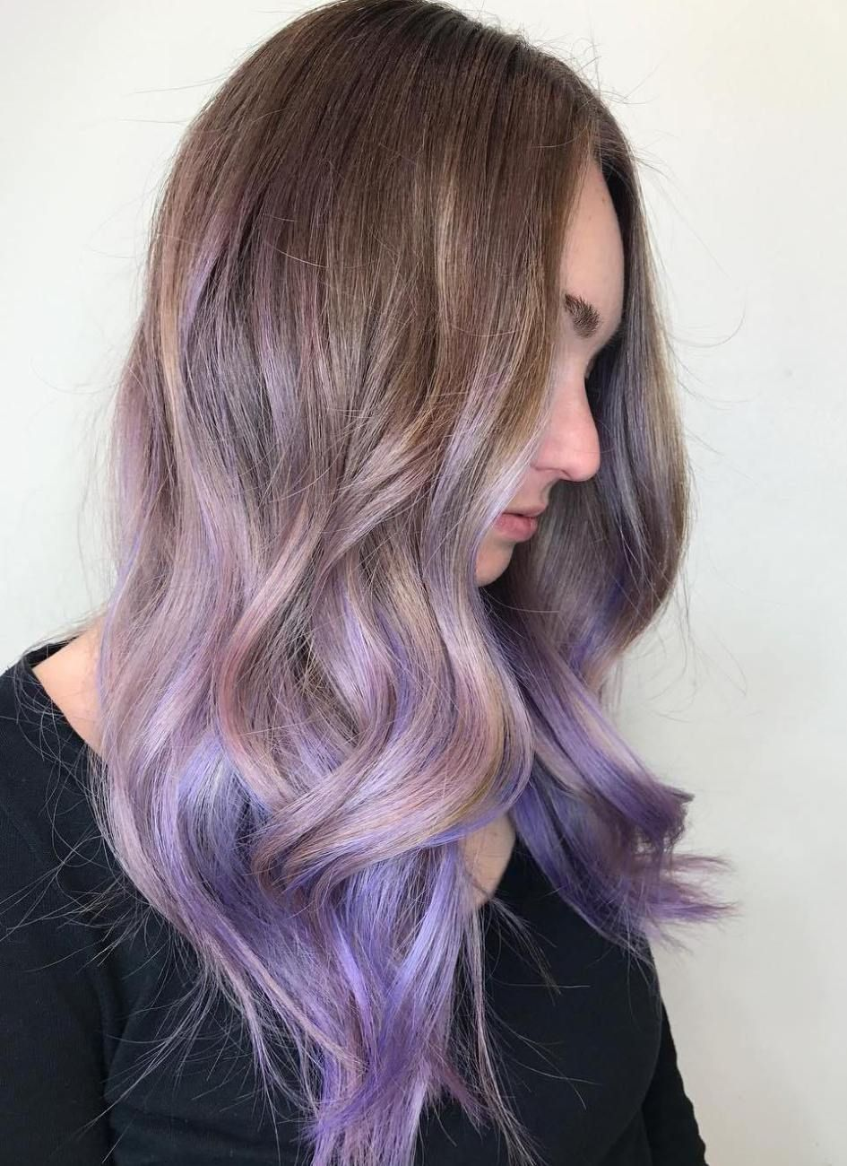 The Prettiest Pastel Purple Hair Ideas Pastel Purple Hair Lavender Hair Ombre Lilac Hair