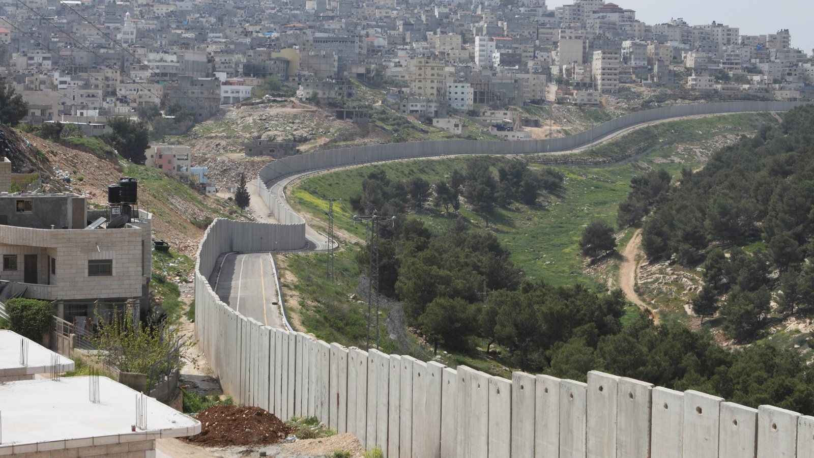 West Bank Wall   Palestinian Christians