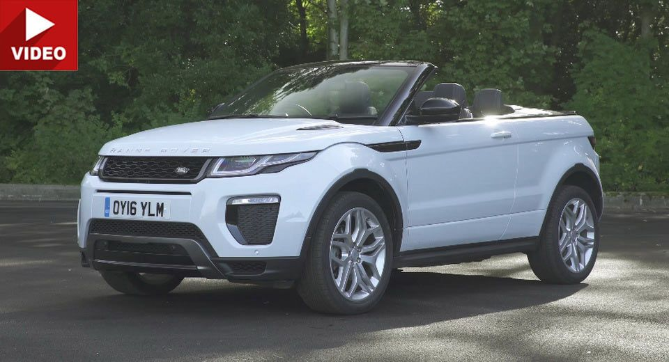 Is The 2017 Range Rover Evoque Convertible Really Worth 47K?