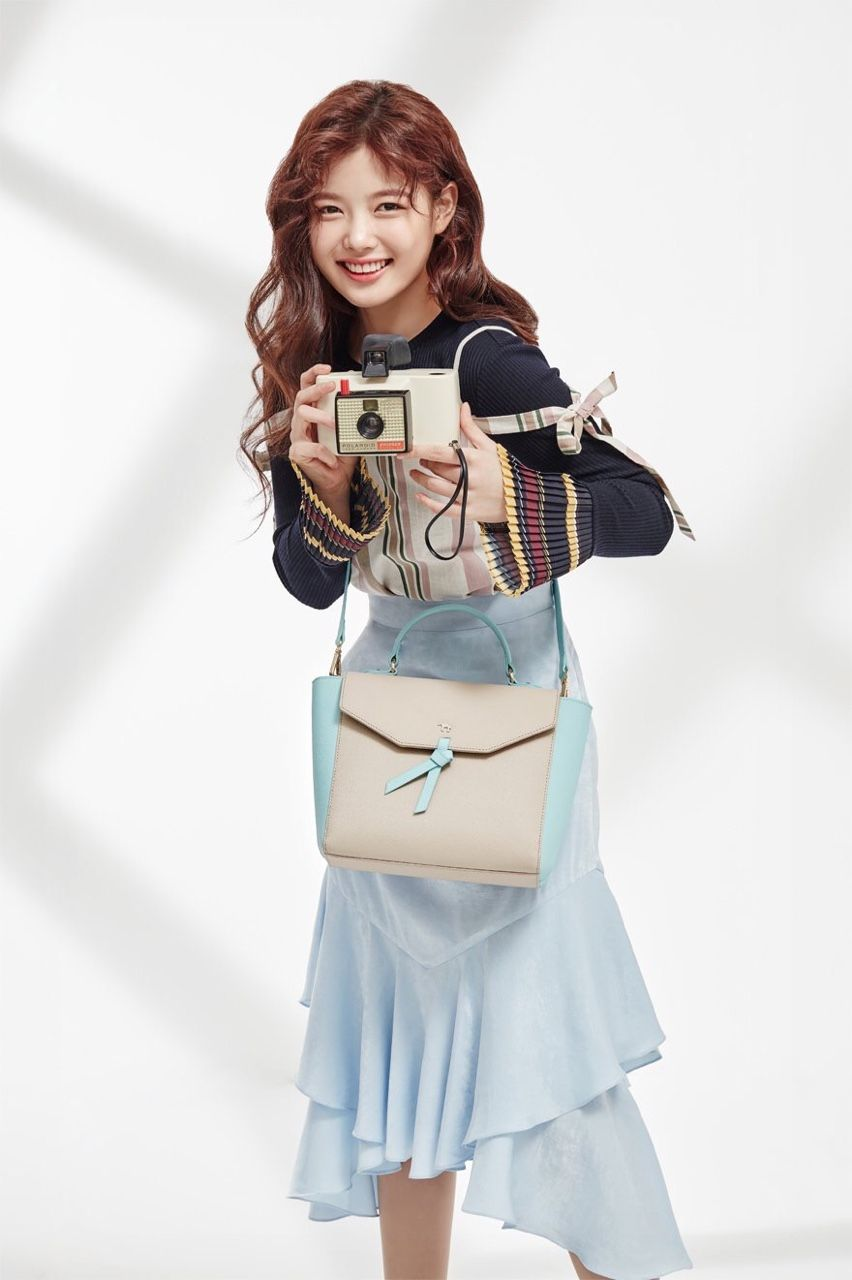 Kim Yoo Jung for Lapalette S/S 2017 collections