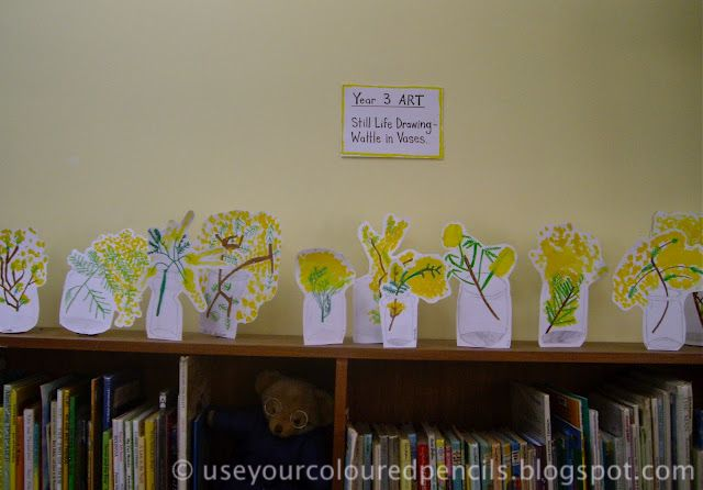 Use Your Coloured Pencils: Still Life Vases