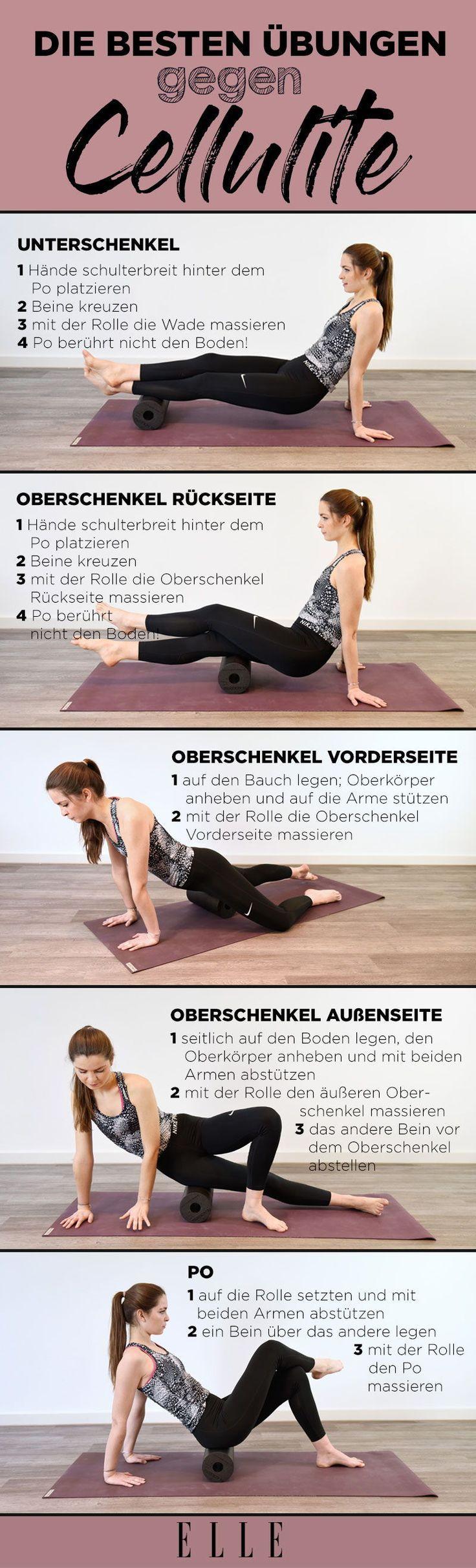 Photo of Faszien-Scroll-Übungen gegen Cellulite   ELLE