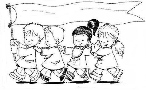 Coloriage Fete De Lecole.L Affiche Pour L Ecole Obrazky Preschool Education School