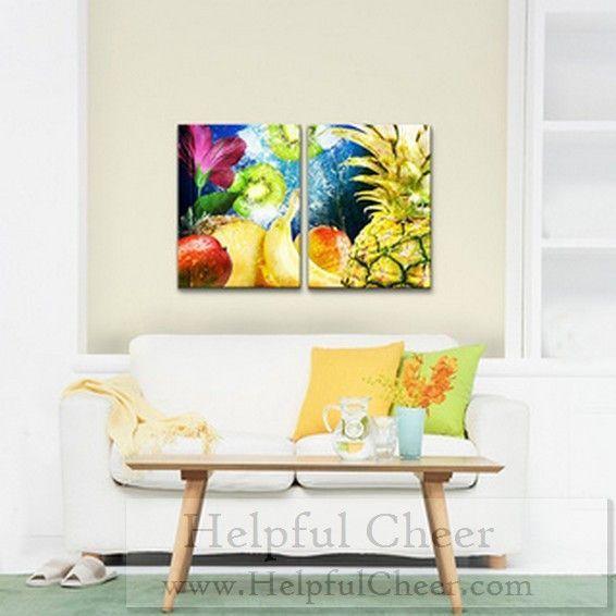Alexis Bueno x27 Tropical Fruit x27 Canvas Wall Art 2-piece Set - at ...