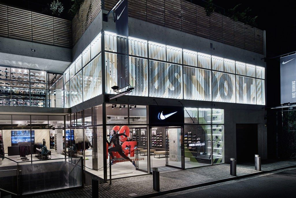 Retail Store Exterior Nike Google Search Retail Facades Delectable Interior Design Shops Exterior