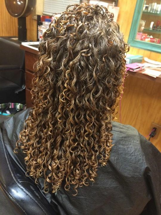 Spiral Perm Long Hair Perm Spiral Perm Long Hair Spiral Perm