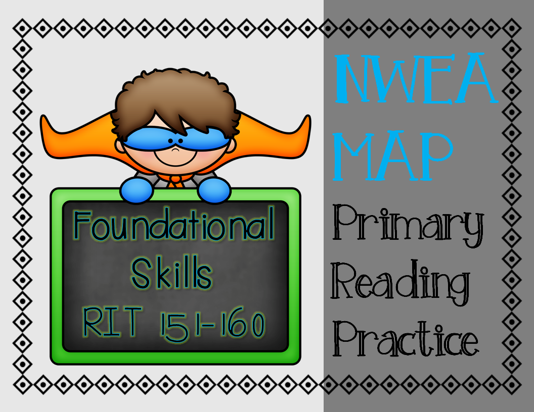 Nwea Map Primary Reading Practice Foundational Skills Rit