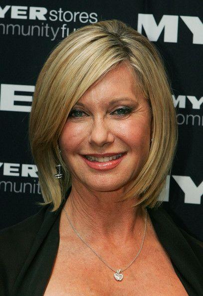 Olivia Newton John Bob Womens Hairstyles Medium Hair Styles For Women Older Women Hairstyles