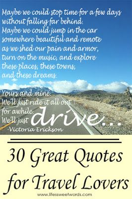 30 Great Quotes For Travel Lovers From Lifes Sweet Words