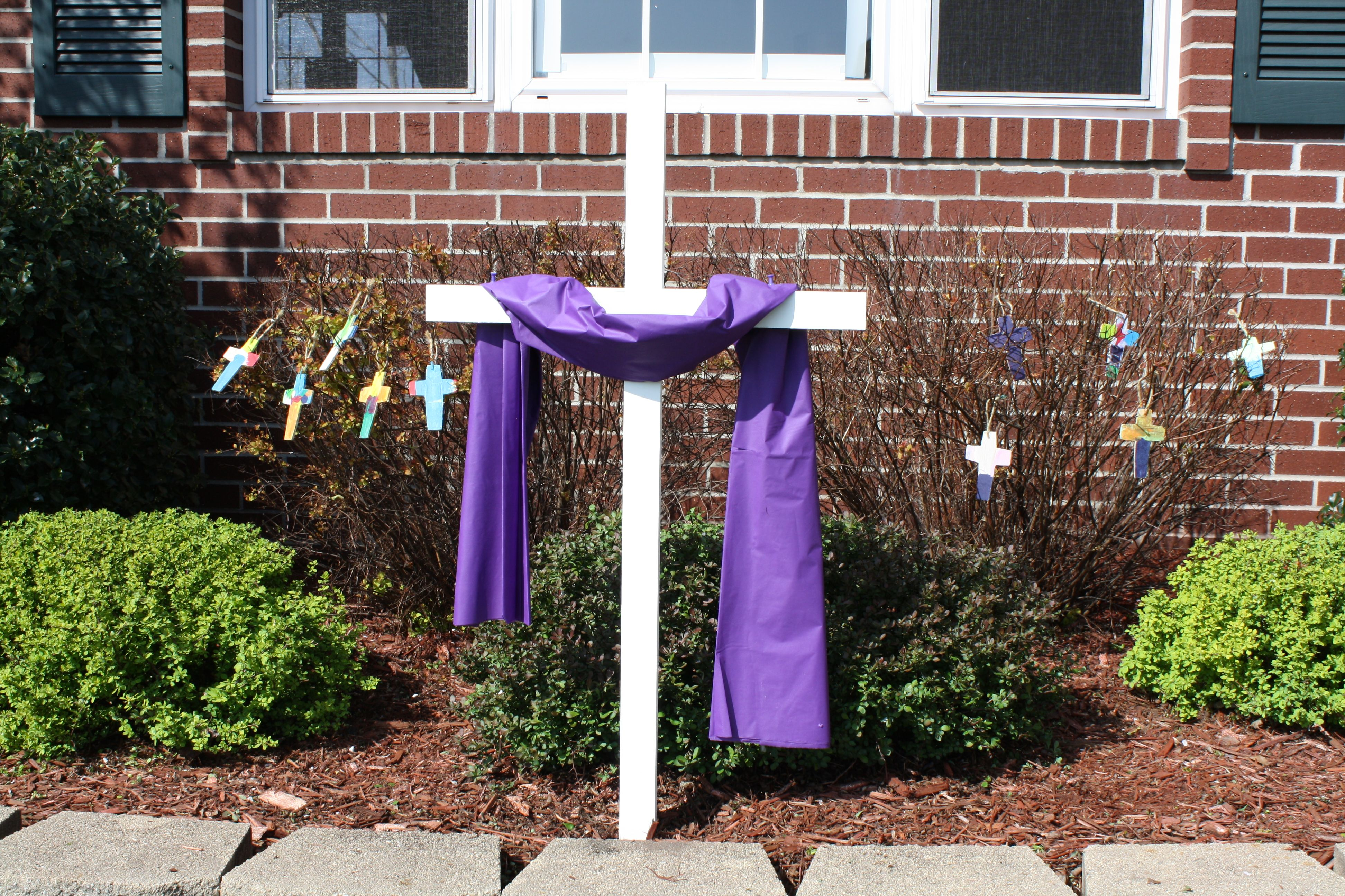 Easter Cross 6 Dollars At Hobby Lobby Purple