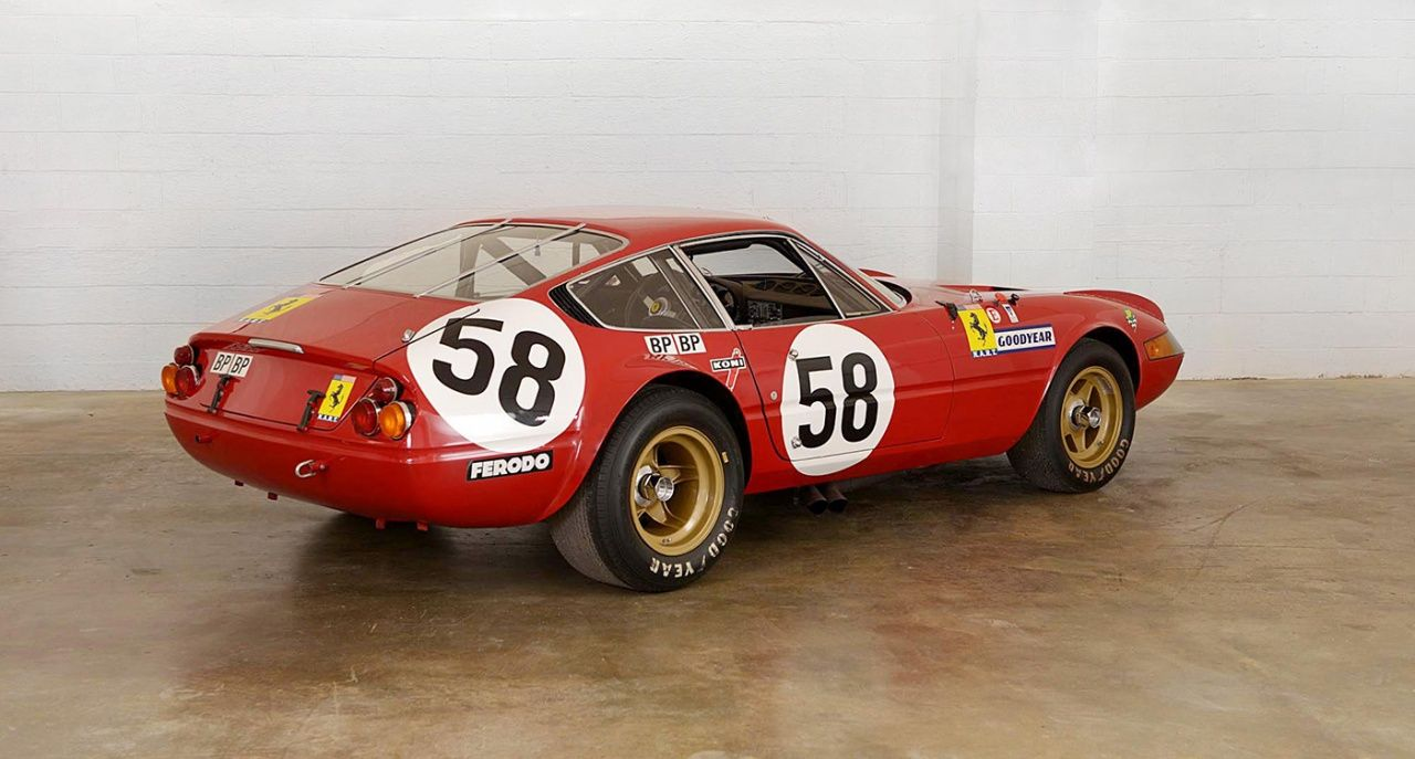 This Ferrari Daytona Competizione Was An Out Of The Box Le Mans Challenger Ferrari Racing Ferrari Car