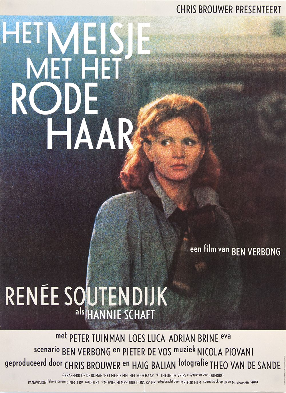 A Year of Spy Films 199/365 Het meisje met het rode haar (1981 Netherlands) aka The Girl With Red Hair The International Spy Film Guide Score: 8/10 #isfg #spyfilmguide #assassin #resistance #spymovie #spyfilm #ww2 #reneesoutendijk #netherlands https://www.kisskisskillkillarchive.com
